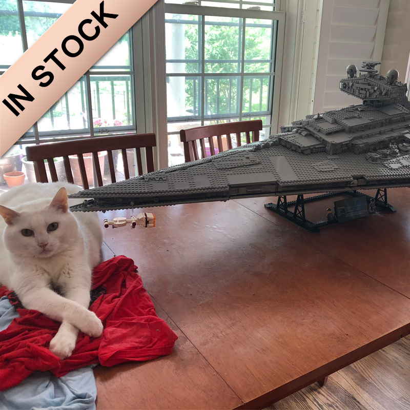 In Stock Star Wars Imperial Star Destroyer 75252 11447 Building Block 5278Pcs Bricks UCS 81098 Moive Space Ship